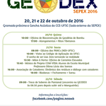 Cartaz GEODEX