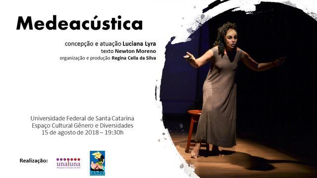 Espetáculo Medeacústica no Espaço Cultural Gênero e Diversidades @ Santa Catarina | Brasil