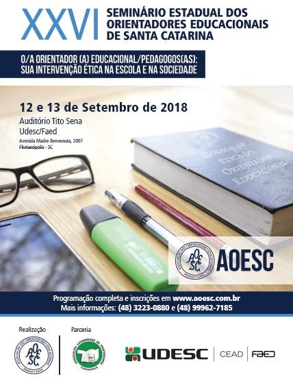 Cartaz XXVI Seminário AOESC