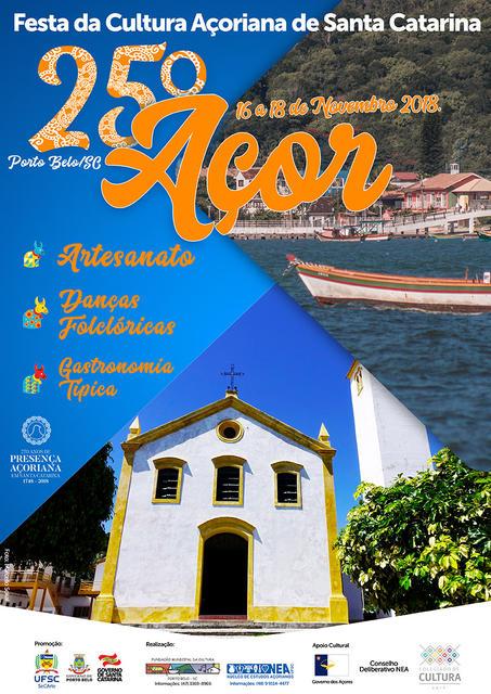25º AÇOR - Festa da Cultura Açoriana de Santa Catarina em Porto Belo @ Santa Catarina | Brasil