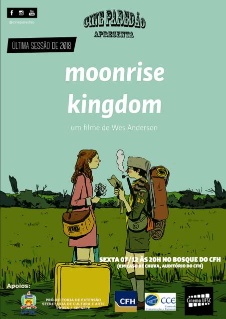 """Cine Paredão """"Moonrise Kingdom"""" @ Bosque do CFH"""