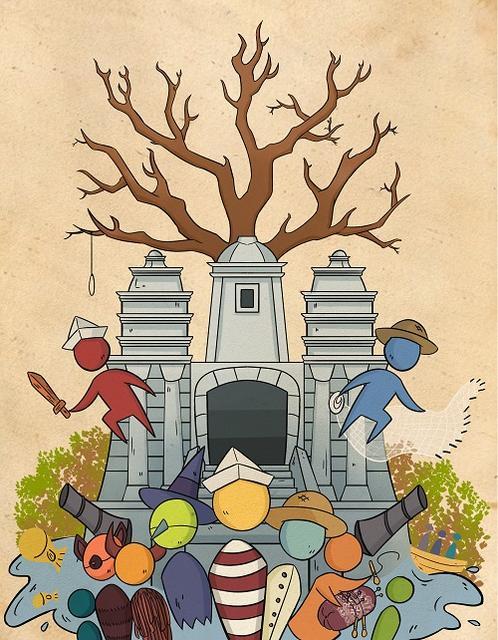 Ilustração de Maria Carolina Lucena de Melo Souto