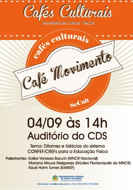 flyer cafe movimento setembro